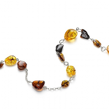 Organic Amber Necklace
