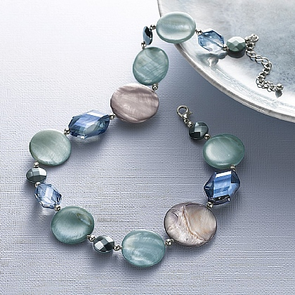 Glacier Grey Necklace