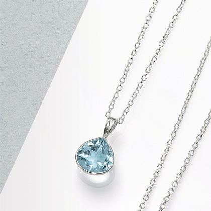 Tears of Blue Pendant