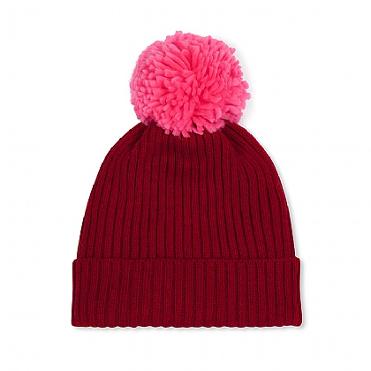 Winter Fun Red Beanie