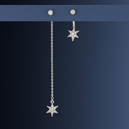 Follow the Star Earrings