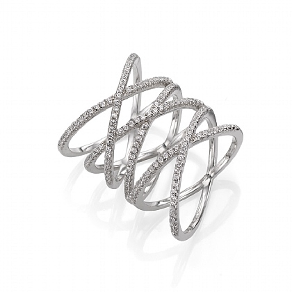 Sparkling Enrapture Ring