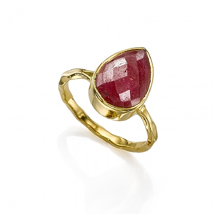 Ruby Tears Ring