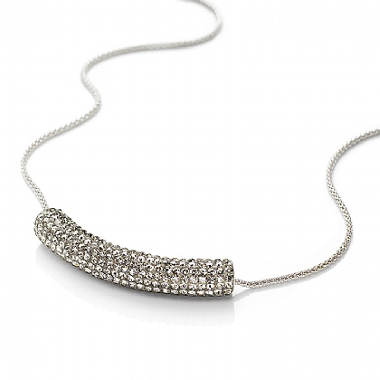 Crystal Contour Necklace