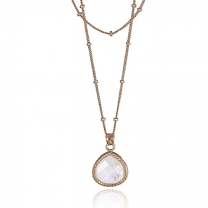 Moonstone Talisman Necklace