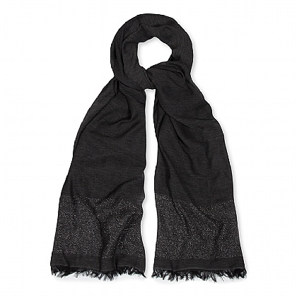 Grey Night Lights Scarf