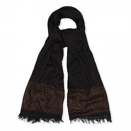 Black Night Lights Scarf