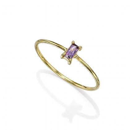 Longitude Purple Ring