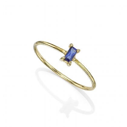 Longitude Blue Ring