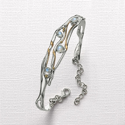 Moonstruck Hinged Bangle