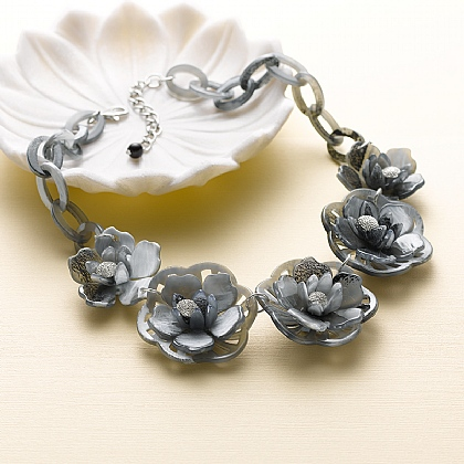 Blooms at Dusk Necklace
