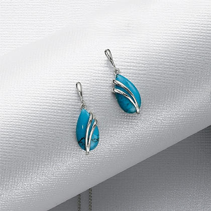 Kingfisher's Wing Earrings