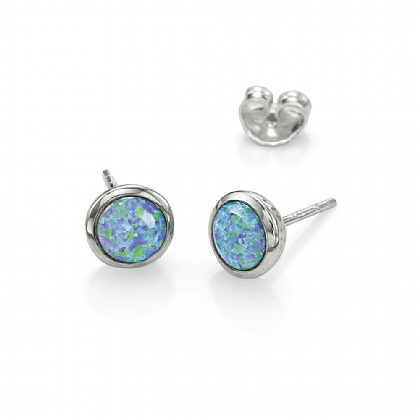 Moonbeam Stud Earrings