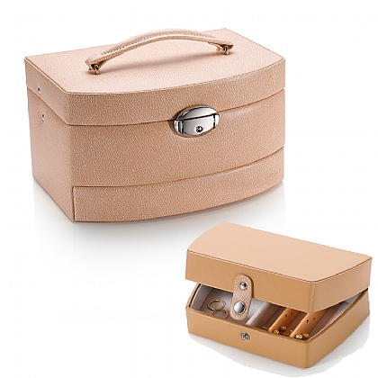 Peaches & Cream Jewellery Box