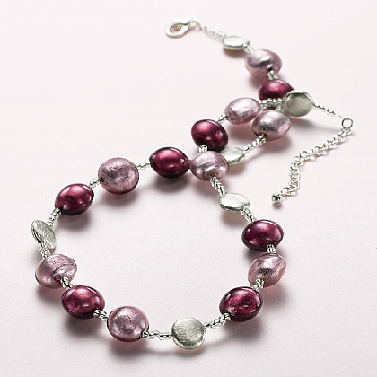 Viola Murano Glass Necklace