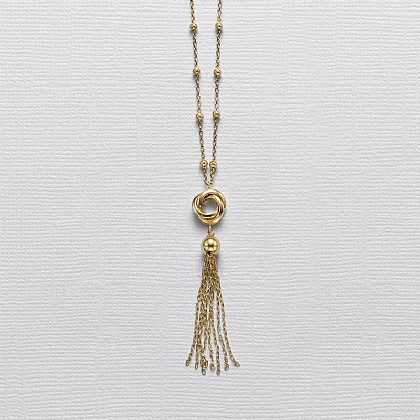 Lyrical Dance Gold Pendant