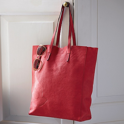 Crimson Carry All Tote