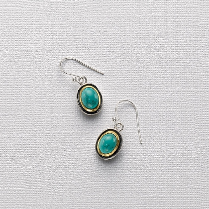 Turquoise Pool Earrings