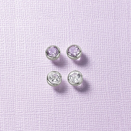 Dawn to Dusk Duo Stud Earrings
