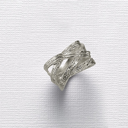 Silver Streams Ring