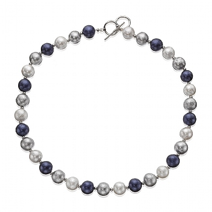 Starlit Sky Pearl Necklace