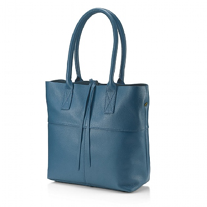 Petrol Persuit Leather Bag
