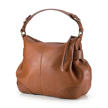 Maple Pecan Leather Bag
