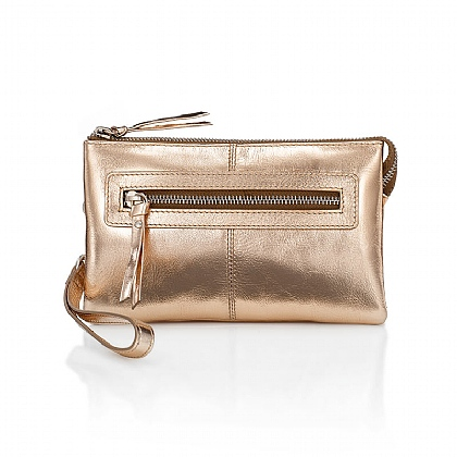 Rose Gold Super Organised Clutch
