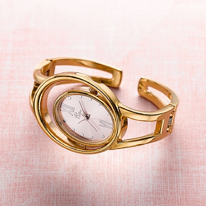 Rosy Orbit Watch