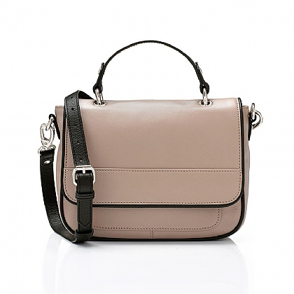 Rosewood Leather Bag