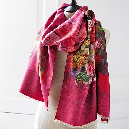 Radiant Blooms Scarf
