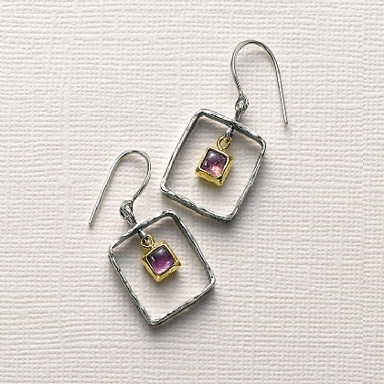 Soulful Spirit Amethyst Earrings