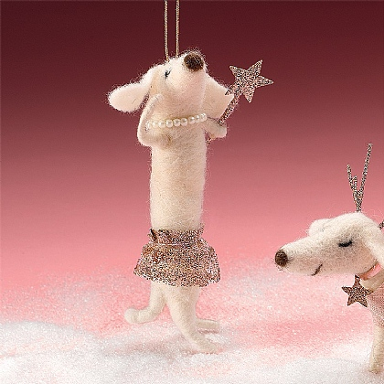 Fairy Dog Mother Decoration