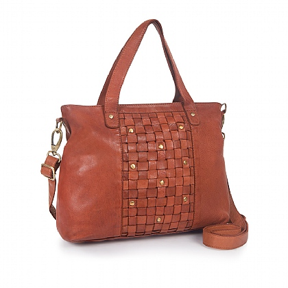 Tamarind Trail Leather Bag