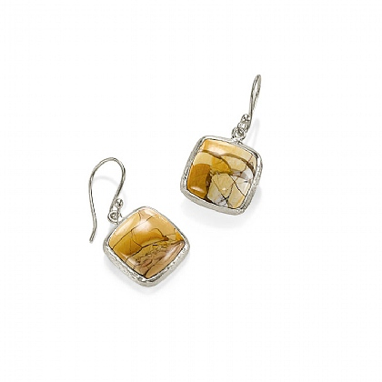 Rare Earth Mookaite Earrings