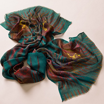Paisley Prism Scarf