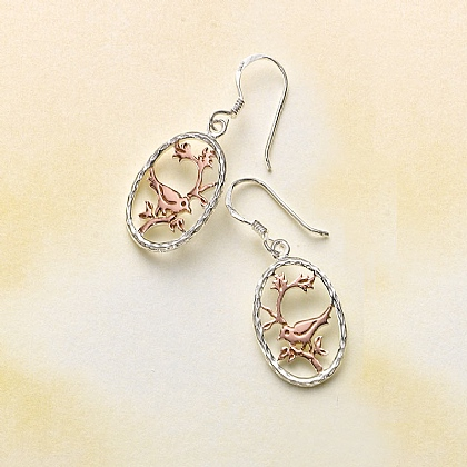 Nightingales Song Earrings