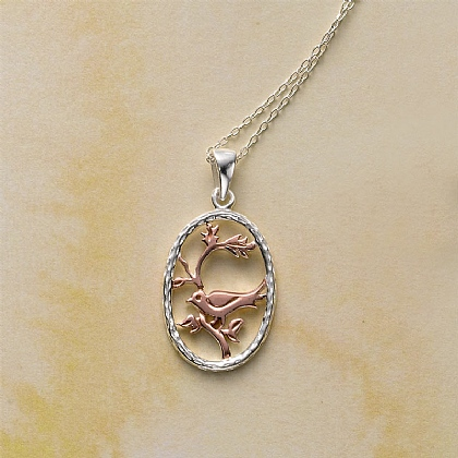 Nightingales Song Pendant