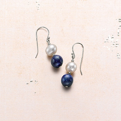 Dusk to Dawn Pearl Earrings