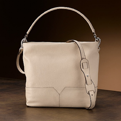 Shifting Sands Leather Bag