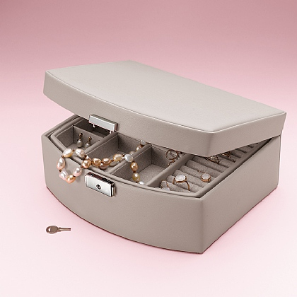 Oyster Grey Jewellery Box