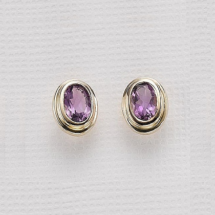 Pools Of Amethyst Earrings
