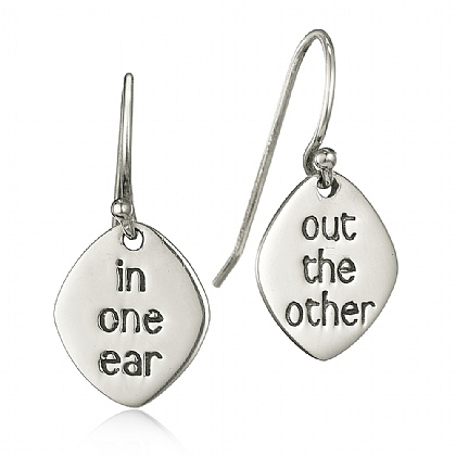 In One Ear Drop Earrings